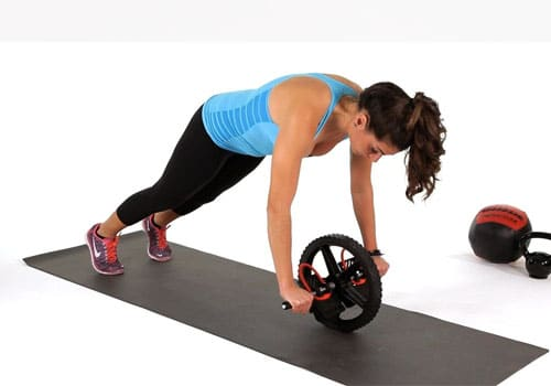Ab roller Plank