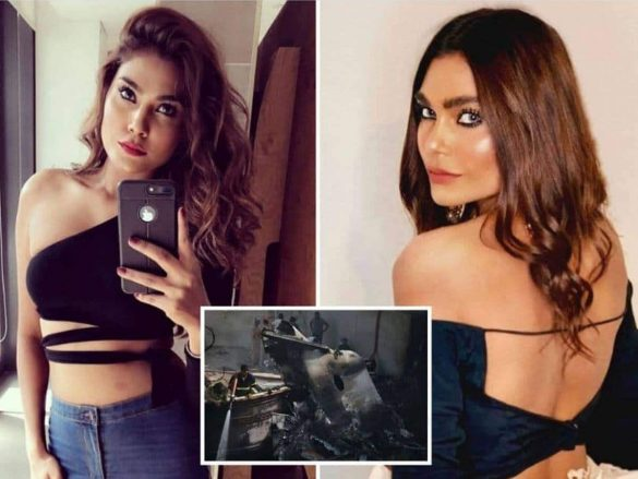 Model Zara Abid In PIA Plane Crash