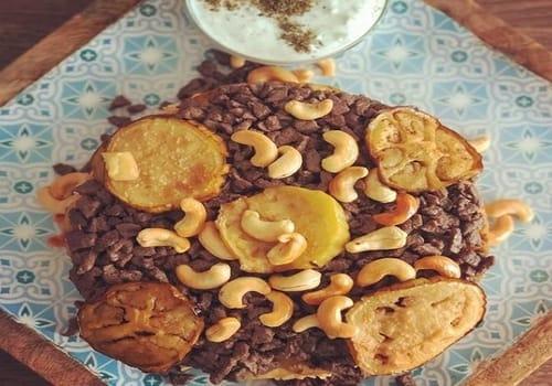 Maqluba Middle East Dish
