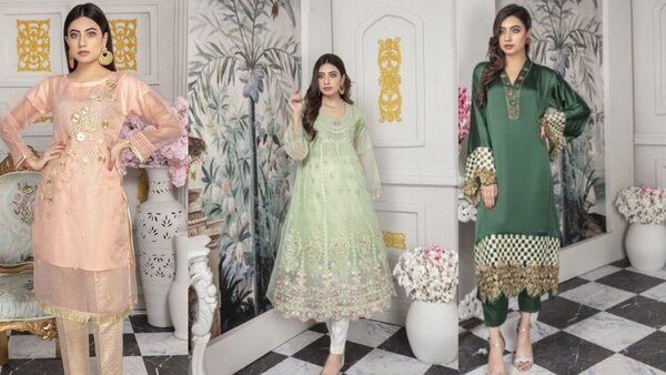 Anam & Irumz Party Wear Dresses New Collections 2021 With Price