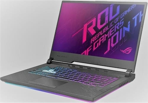 ASUS ROG-from the Best laptops for Kali Linux 2021