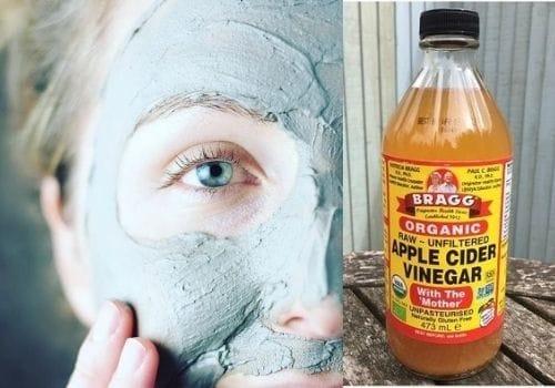 Face Mask of apple cider vinger