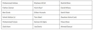 Lahore Qalandars Squads