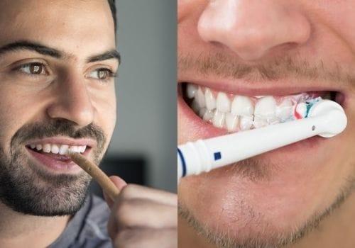 Brushing the Teeth or Miswak