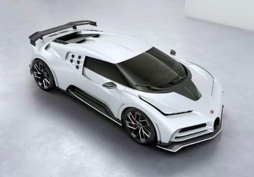 white Bugatti Centodieci ($9 Million)