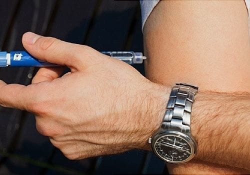 Insulin injections for Diabetic people