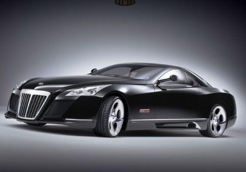 black Mercedes Maybach Exelero ( $8 million)