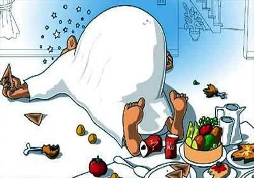 Stop Overeating in Ramadan