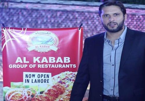 Al Kabab Restaurant – Shahid Afridi