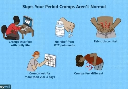 how to get rid period pain